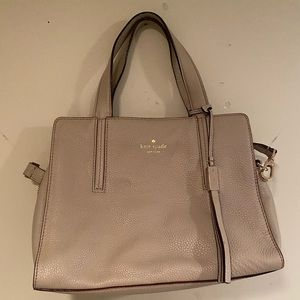 Kate Spade Taupe Shoulder Bag